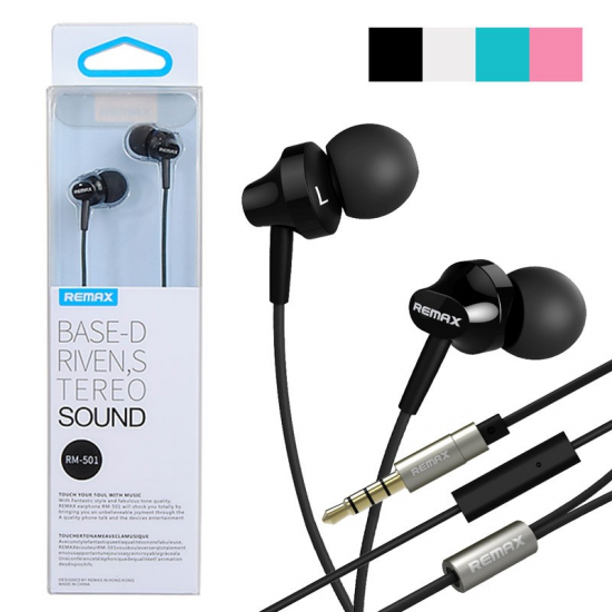 REMAX RM-501 In-ear Stereo Earphone