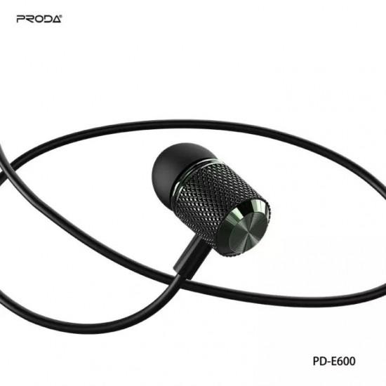 Proda PD-E600 YUEYIN SERIES WIRED In-Ear EARPHONE