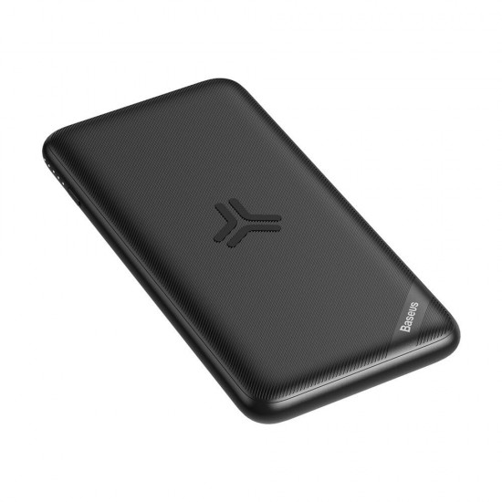 Baseus S10 10,000mAh Bracket Wireless Charger Powerbank with 2 Inputs & 2 Outputs