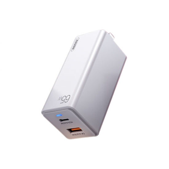 REMAX RP-U50 GaN 65W Fast Charger (White)