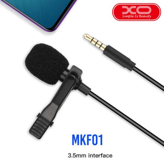 XO MKF-01 LAVALIER MICROPHONE 2M Length