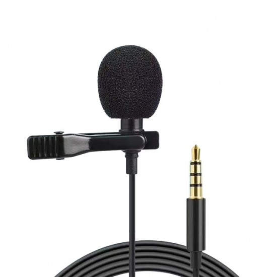 REMAX RL-LF31 MICDO SERIES CLIP LAVALIER MICROPHONE 1.5m Cable