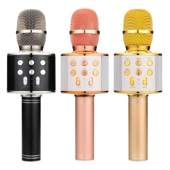Handheld KTV WS-858 Wireless Karaoke Microphone with HiFi Speaker