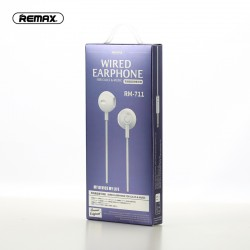 REMAX RM-711 Wire Controlled Earplug Type Earphone