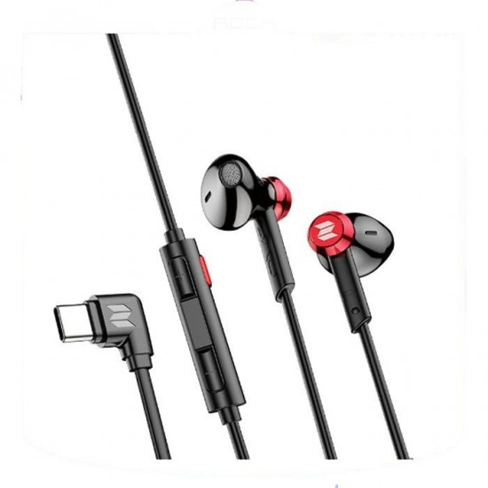 Rock Space C2 Amuse Type-C Virtual 7.1 Gaming Earphone