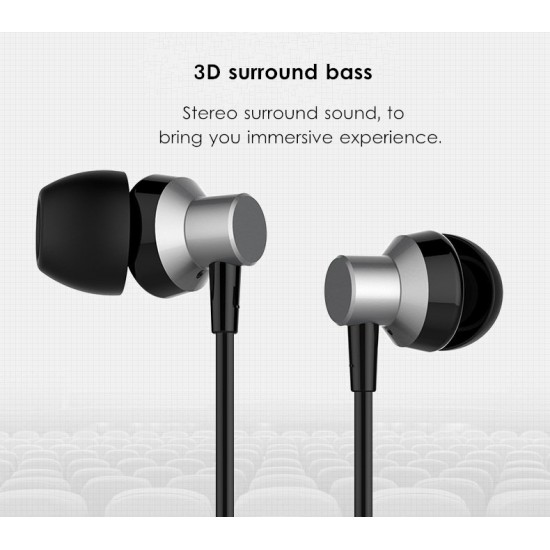Remax RM-512 3.5mm Wired Music Earphone Heavy Bass