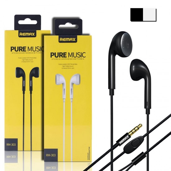 REMAX RM-303 Pure Music Surround Earphone