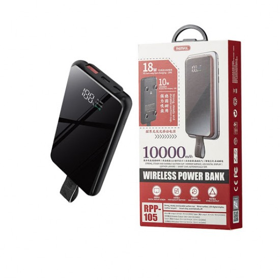 Remax RPP-105 Tangee Series Wireless Power Bank 10000mAh