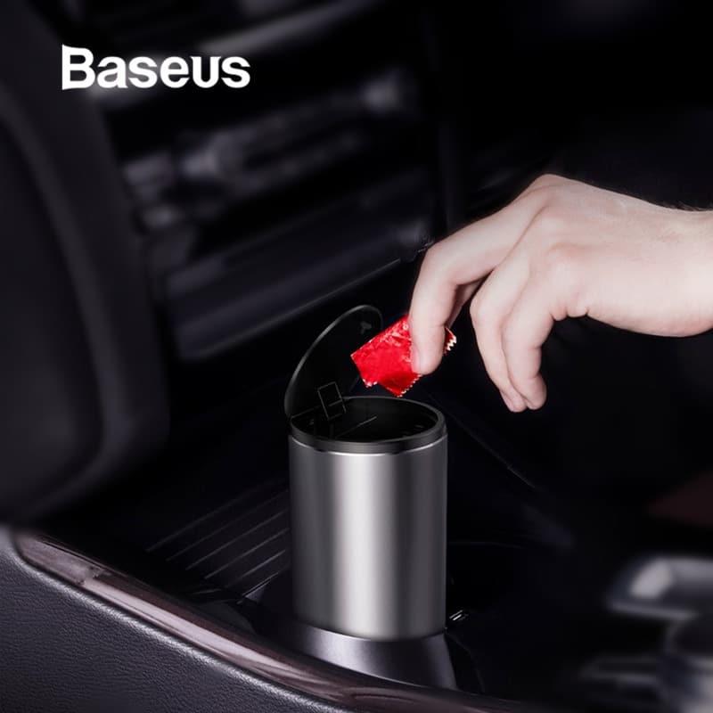 Baseus Gentleman Style Vehicle-mounted Trash Can 3